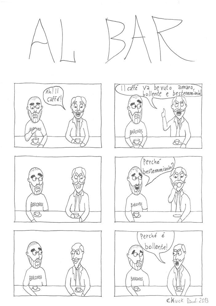 Fumetti Altrove - al bar - sito fumetti altrove