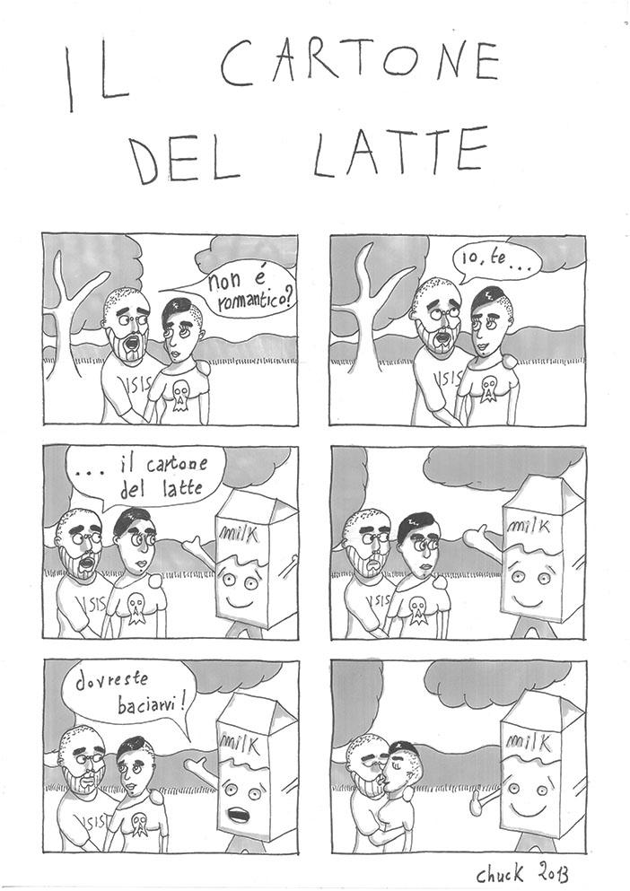 Fumetti Altrove - il cartone del latte - sito fumetti altrove