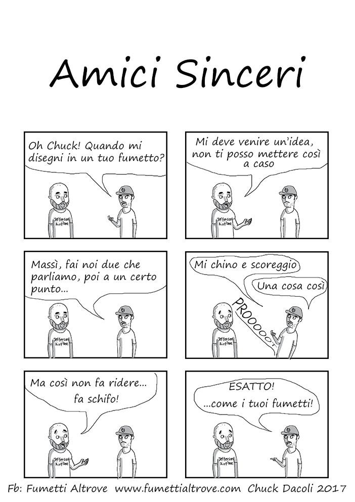 030 - Fumetti Altrove - Amici Sinceri - sito fumetti altrove