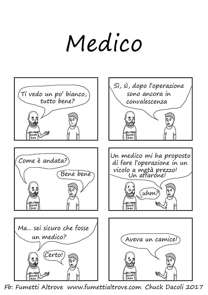 033 - Fumetti Altrove - Medico - sito fumetti altrove