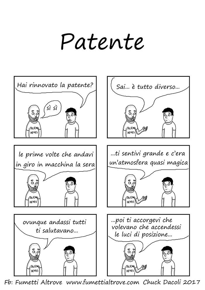 035 - Fumetti Altrove - Patente - sito fumetti altrove