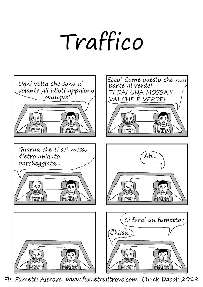 046 - Fumetti Altrove - Traffico - sito