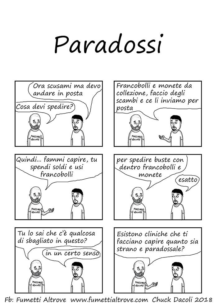 052 - Fumetti Altrove - Paradossi - sito
