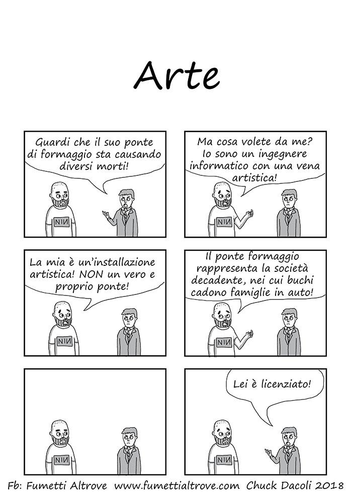 058 - Fumetti Altrove - Arte - sito