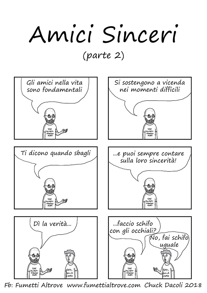 061 - Fumetti Altrove - Amici Sinceri parte 2 - sito